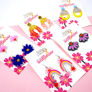 Pretty Petal Statement Studs