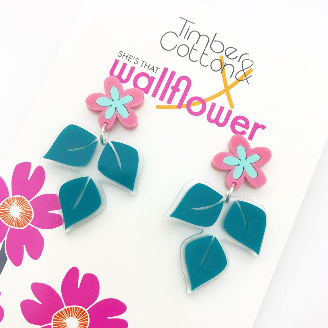 Spring Garden Statement Earrings