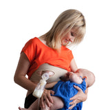 Pump Strap HandsFree Pumping & Nursing Bra – Pump More in Less Time - Fits All Moms, Beige