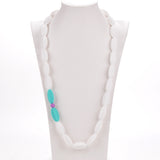 Nursing to Teething Necklace - Turquoise