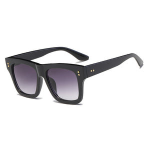 Rivet Square Womens Sunglasses
