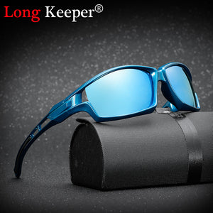 Polarized HD Mirror Lens Driver Sunglasses For Men