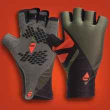 FARR Aero Race Gloves Orange/Green