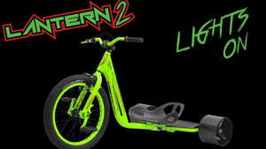 Lantern 2 Drift Trike Glow in the dark