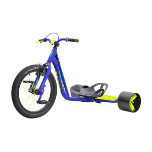 UNDERWORLD 3 DRIFT TRIKE BLUE/NEON YELLOW