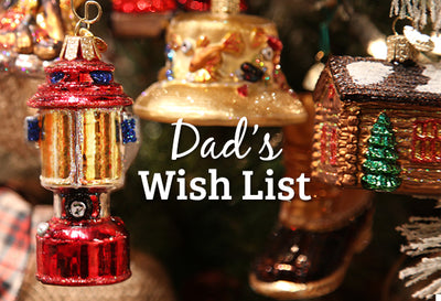 Christmas Gift List for Dad