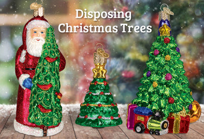 How To Dispose of Real and Artificial Christmas Trees