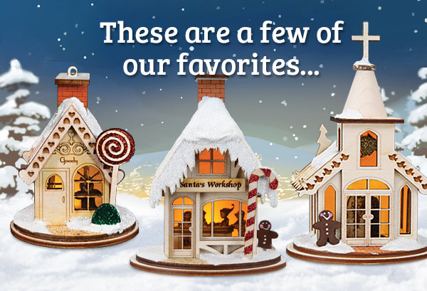 Our Favorite Ginger Cottages Ornaments