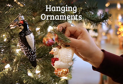How to Hang a Christmas Ornament (and Other Ornament Display Ideas)