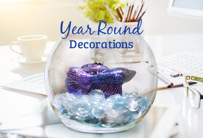 3 Ways to Decorate Your Home or Office Space with Ornaments Year Round