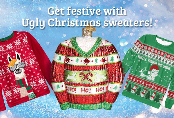 Host an Ugly Christmas Sweater Party this Holiday Season