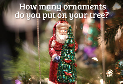 Christmas Math: How Many Ornaments Should Go on My Tree?