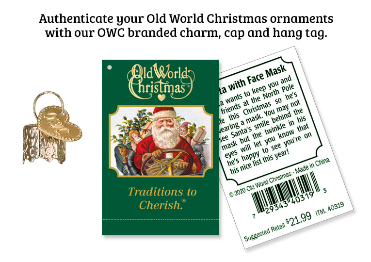 Old World Christmas Ornament Authenticity