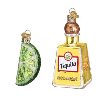 Tequila and Lime Ornament