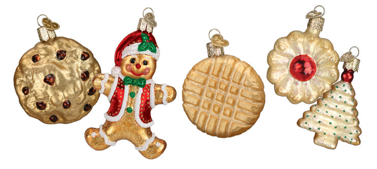 Baked Goods Christmas Ornaments