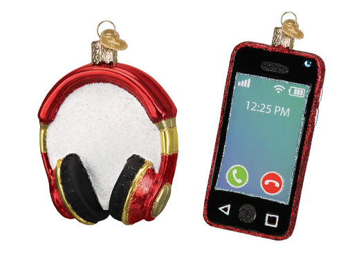 Headphones and Cell Phone Ornaments