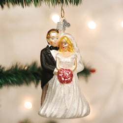 Bridal Couple Ornament