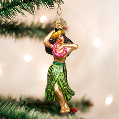 Hula Dancer Ornament