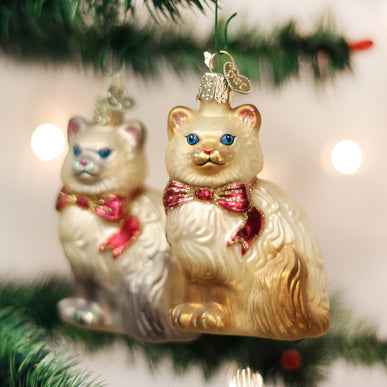 Himalayan Kitty (a) Ornament
