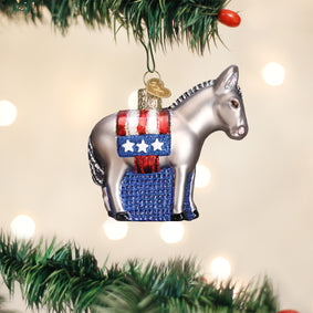 Democratic Donkey Ornament