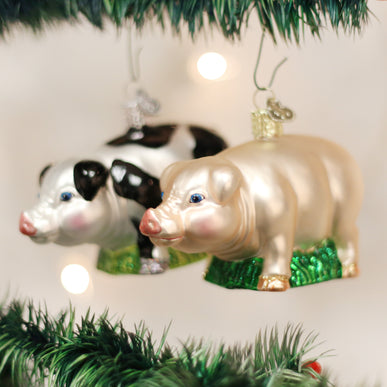 Big Pig (a) Ornament