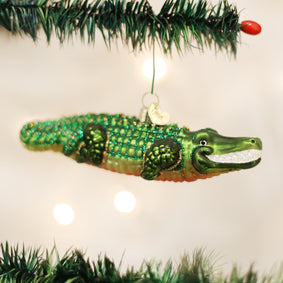 Alligator Ornament
