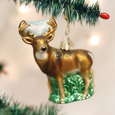 Whitetail Deer Ornament