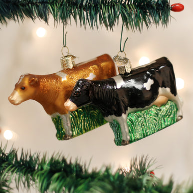Assorted Dairy Cows (a) Ornament