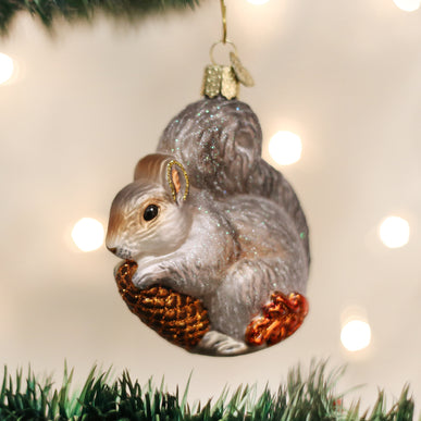 Hungry Squirrel Ornament