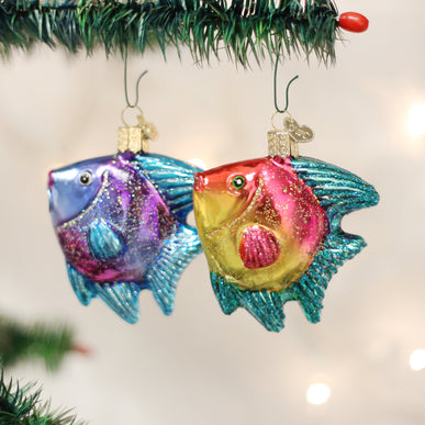 Tropical Angelfish (a) Ornament