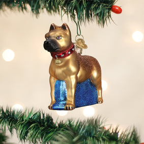 Staffordshire Terrier Ornament
