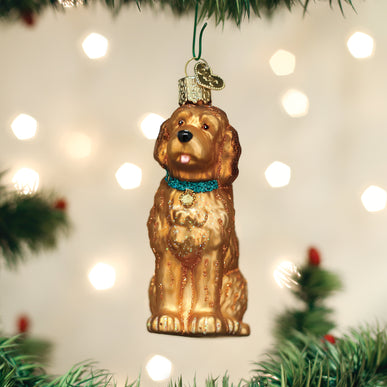 Irish Doodle Ornament