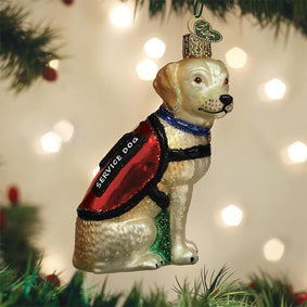 Service Dog Ornament