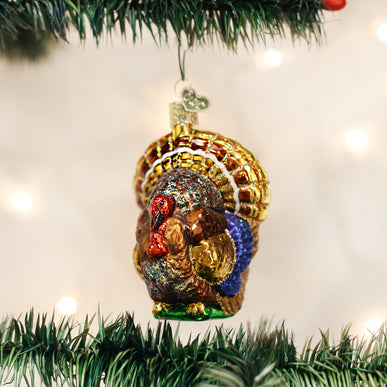 Tom Turkey Ornament