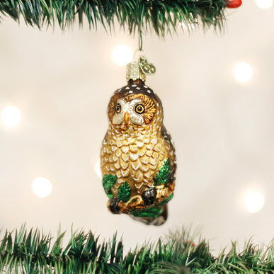 Spotted Owl Ornament