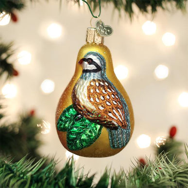 Partridge In A Pear Ornament