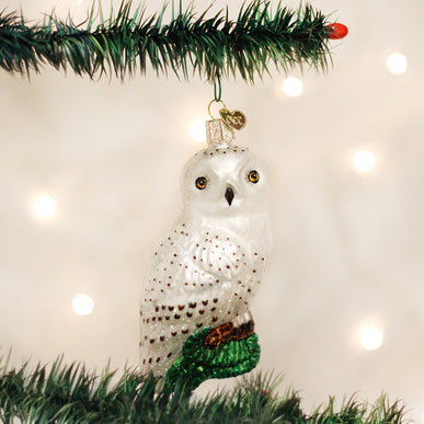 Great White Owl Ornament