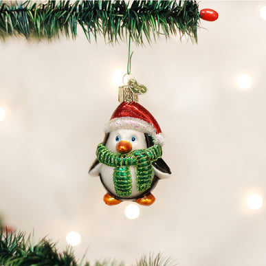 Playful Penguin Ornament