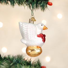 Golden Goose Ornament