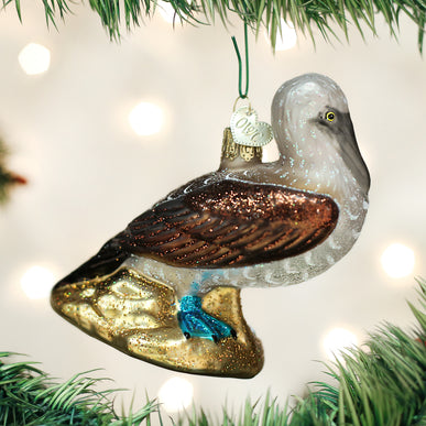Blue Footed Booby Ornament