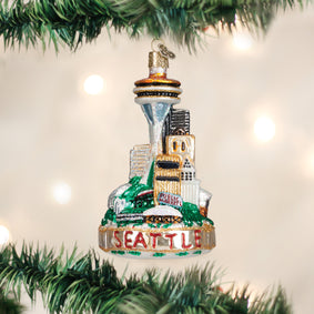 Seattle Skyline Ornament