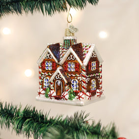 Christmastime Cottage Ornament