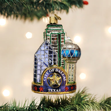 Dallas City Ornament