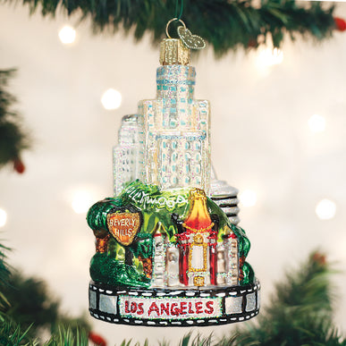 Los Angeles City Ornament