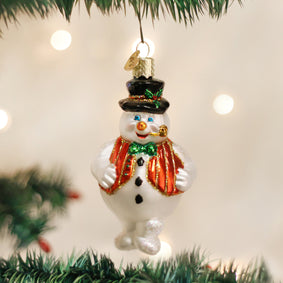 Mr. Frosty Ornament