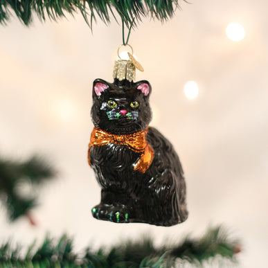 Halloween Kitty Ornament
