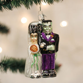 Frankenstein & Bride Ornament