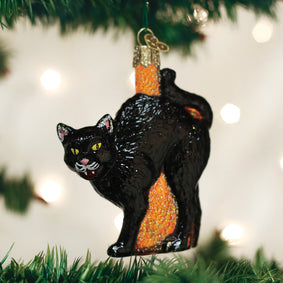 Scaredy Cat Ornament