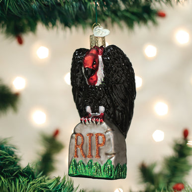 Halloween Vulture Ornament