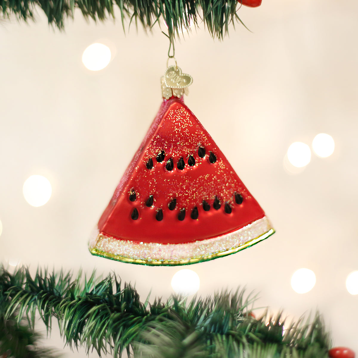 Watermelon Wedge Ornament Old World Christmas